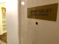 CABINET NOLLET - PORTE ENTRÉE
